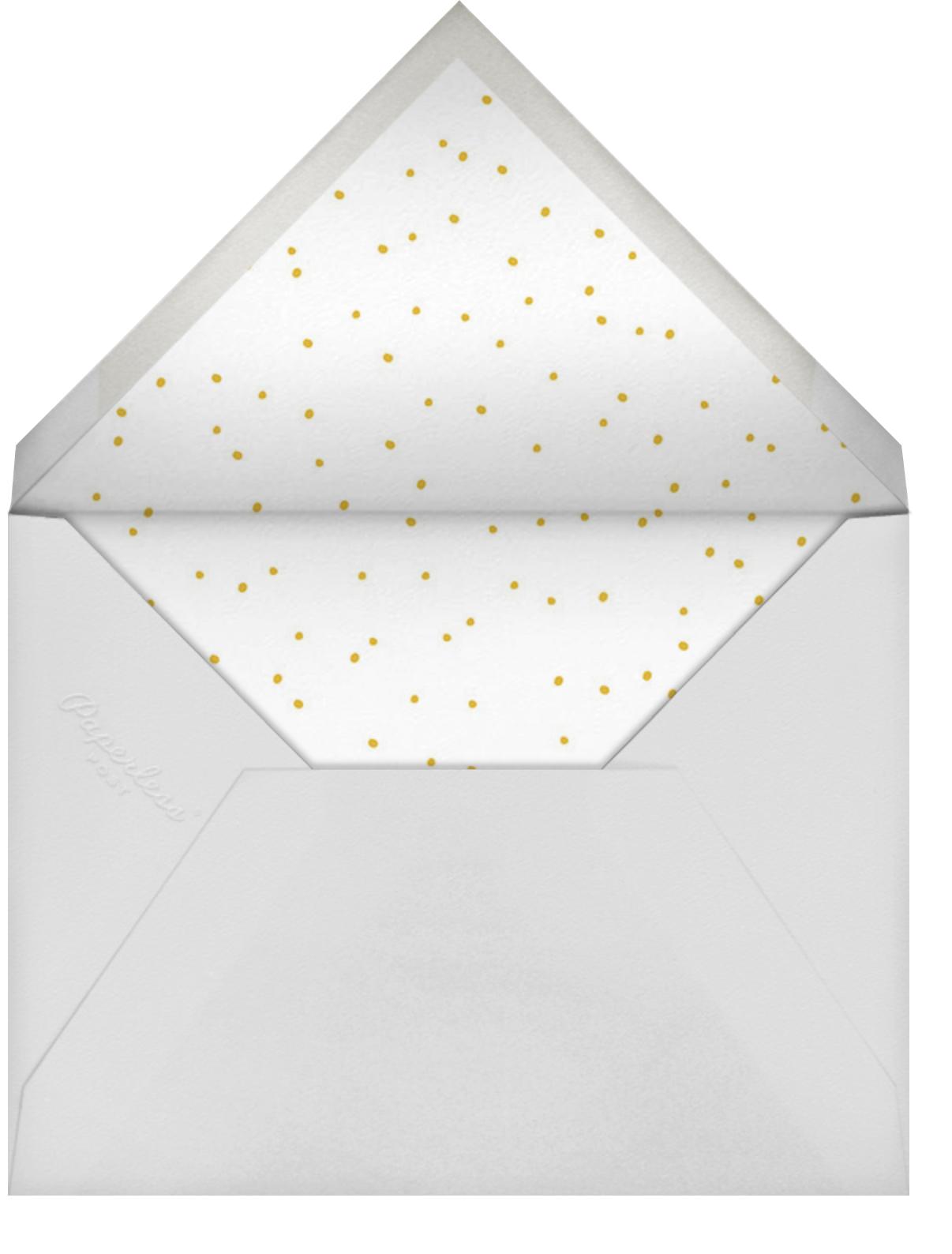 Pineapple Party - Linda and Harriett - Bachelorette party - envelope back