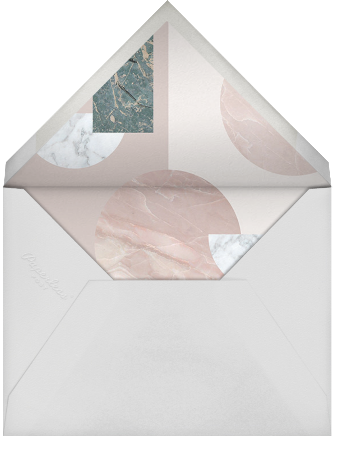 Maçonnerie - Paperless Post - Save the date - envelope back