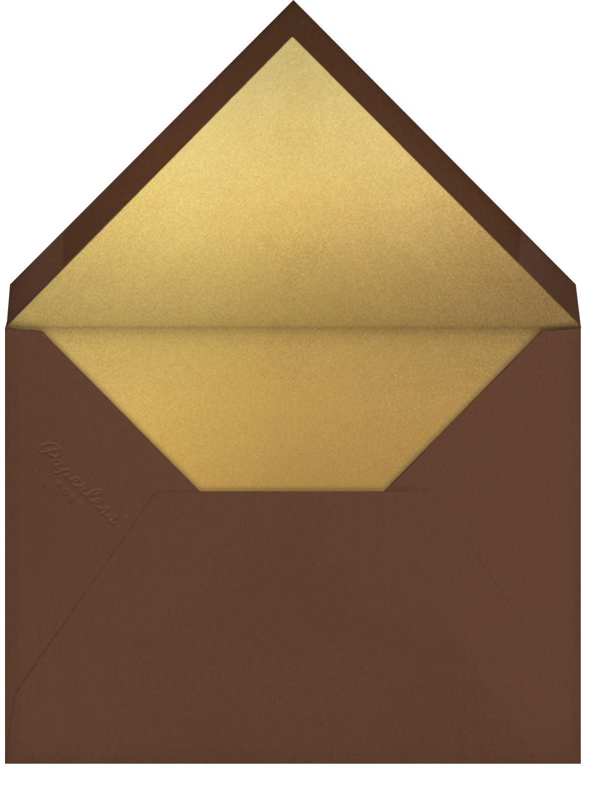 Thankful Friendsgiving - Paperless Post - Thanksgiving - envelope back