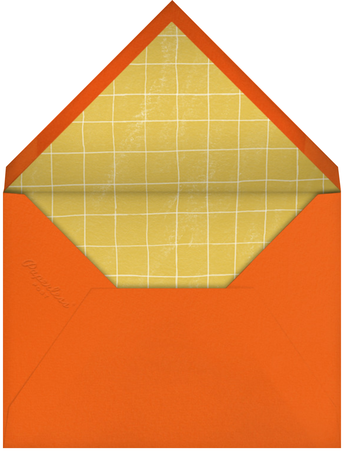 Dig In - Paperless Post - Thanksgiving - envelope back
