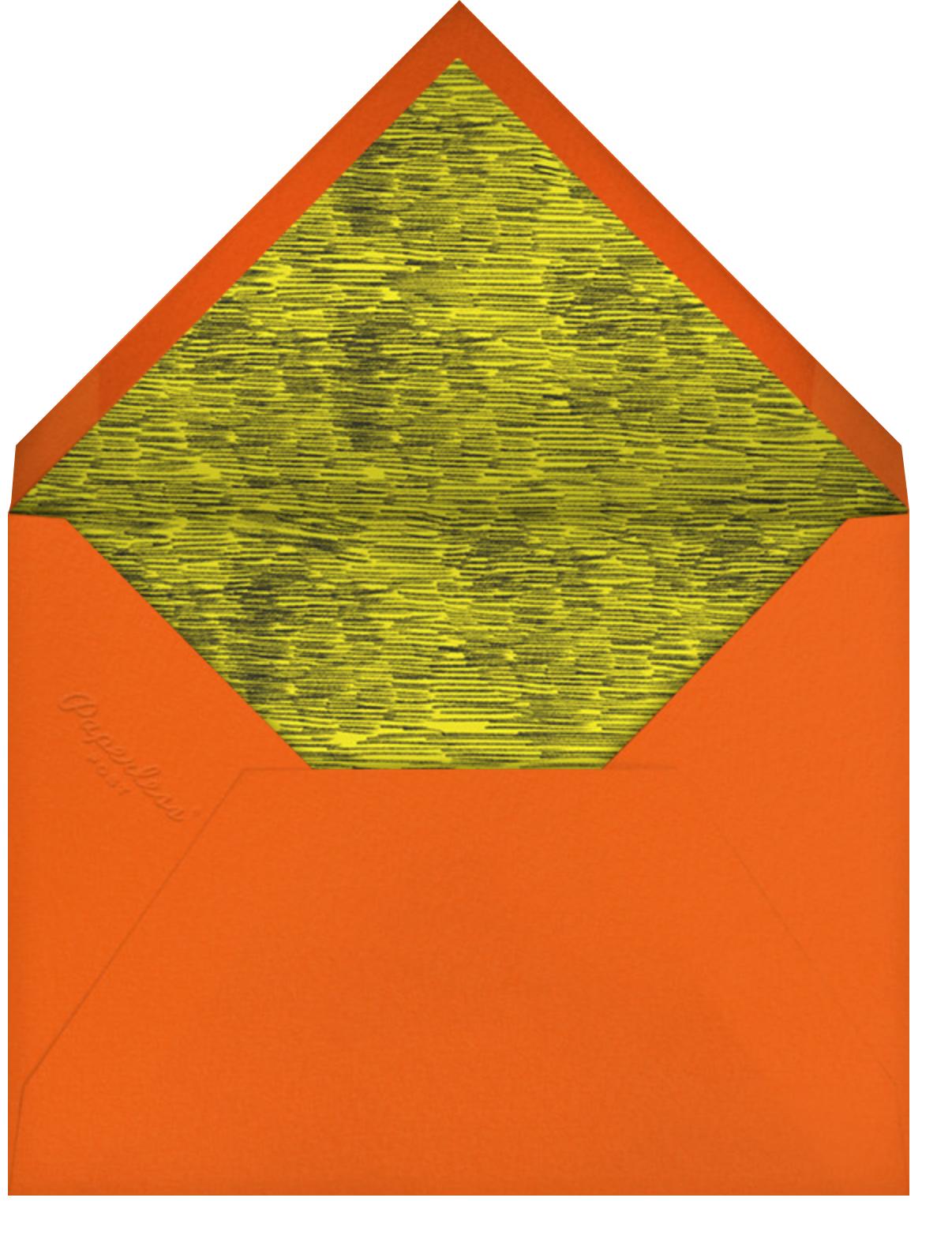 Spooky Sketch - Paperless Post - Halloween - envelope back