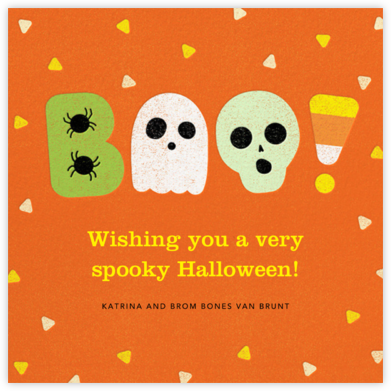 Candy Dandy - Paperless Post - Halloween Cards