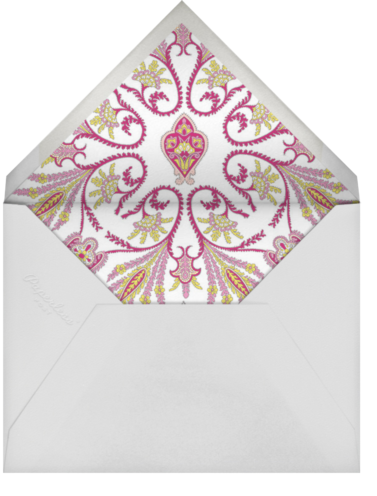 Lord Paisley Tana - Liberty - Envelope