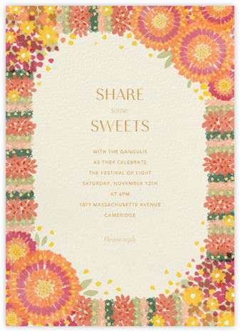 Aripan - Paperless Post - Diwali invitations