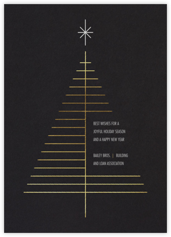 Tree Topper - White - Paperless Post - Company holiday cards