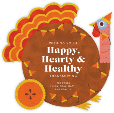 Quirky Turkey - Paperless Post - Online greeting cards