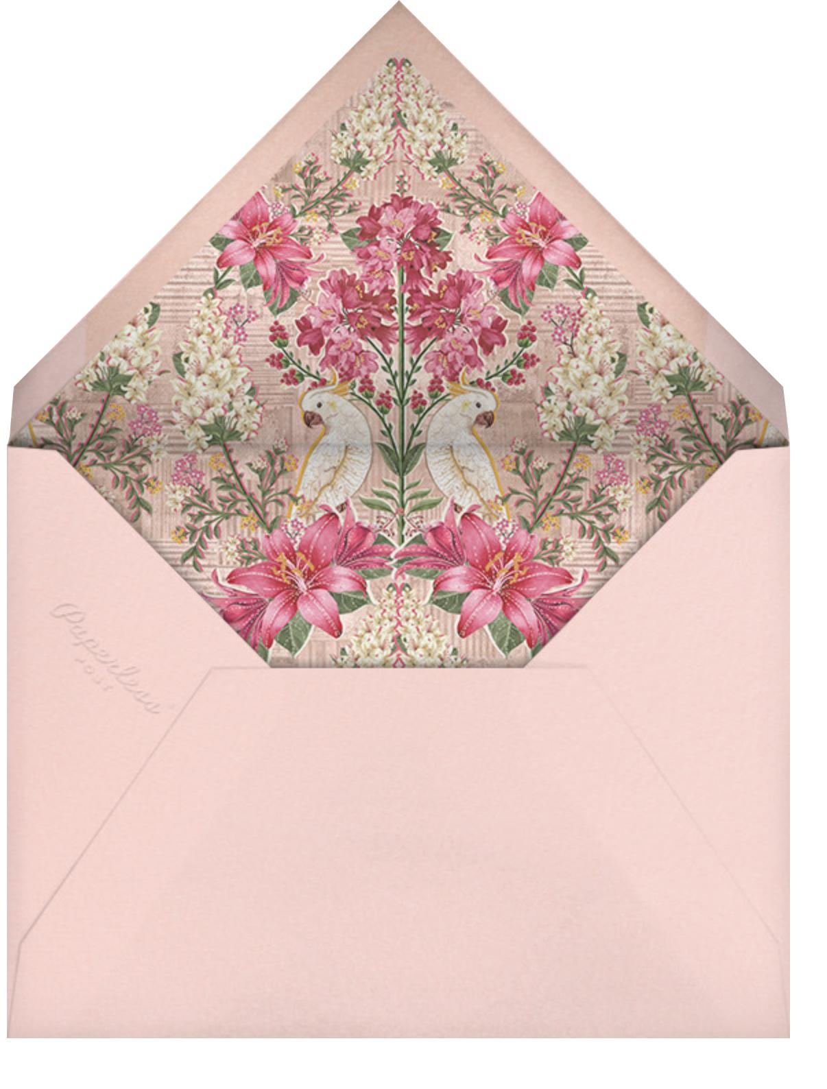 Keyuri (Haldi) - Anita Dongre - Indian - envelope back