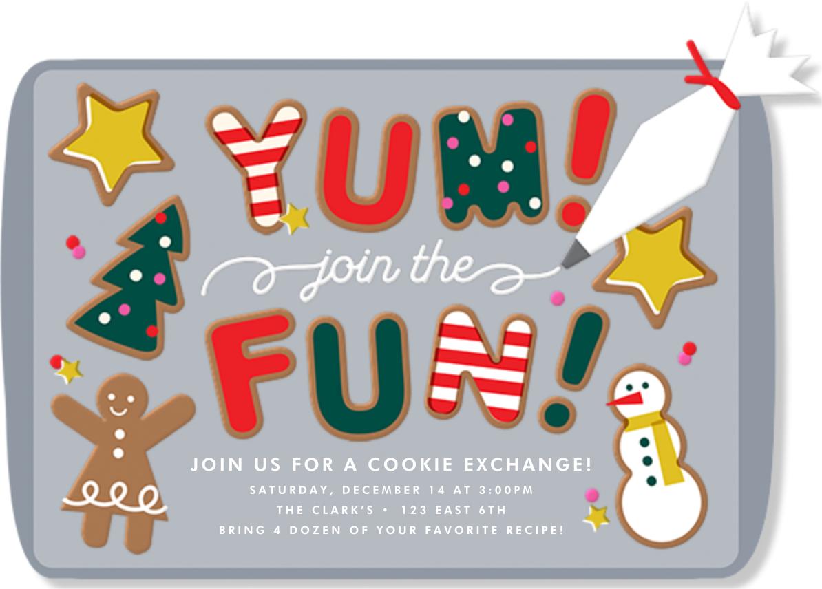 Cookie Exchange - Cheree Berry - Invitations