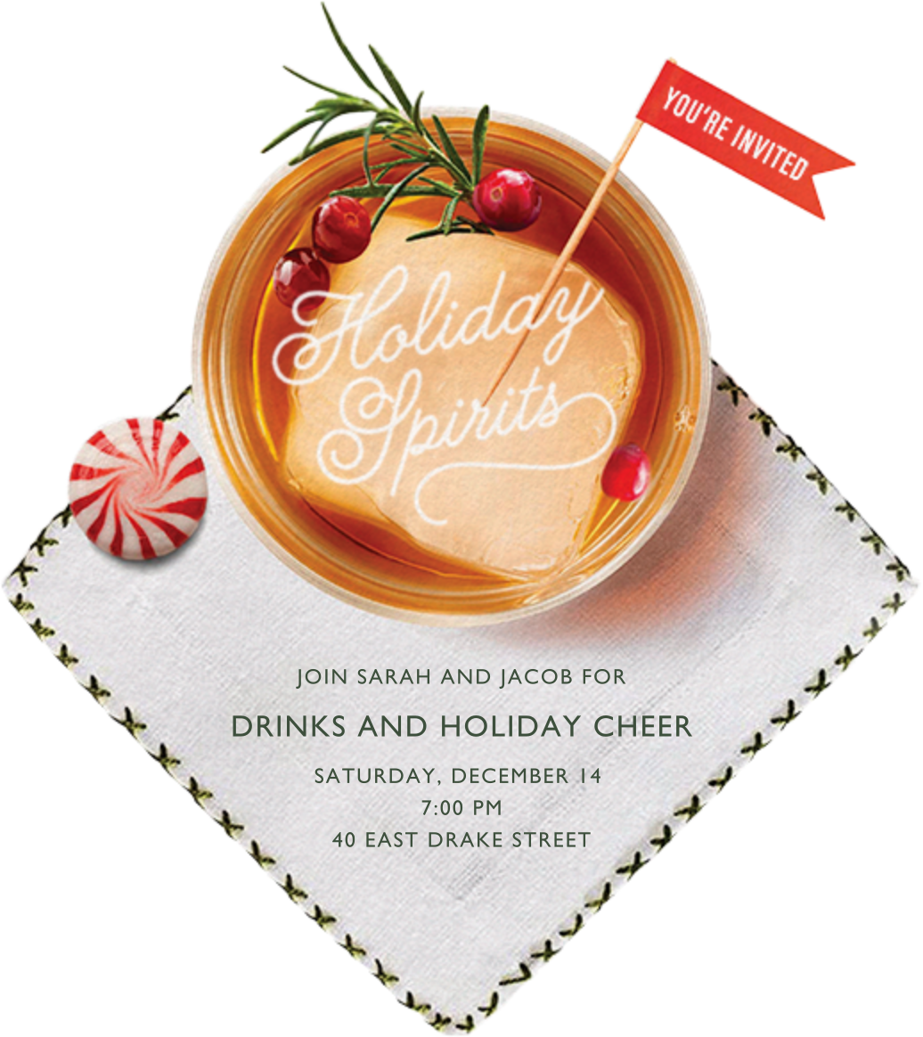 Holiday Sipping - Cheree Berry - Company holiday party