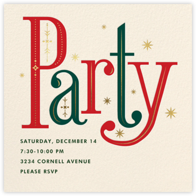 Nordic and Nice - Cheree Berry - Holiday invitations