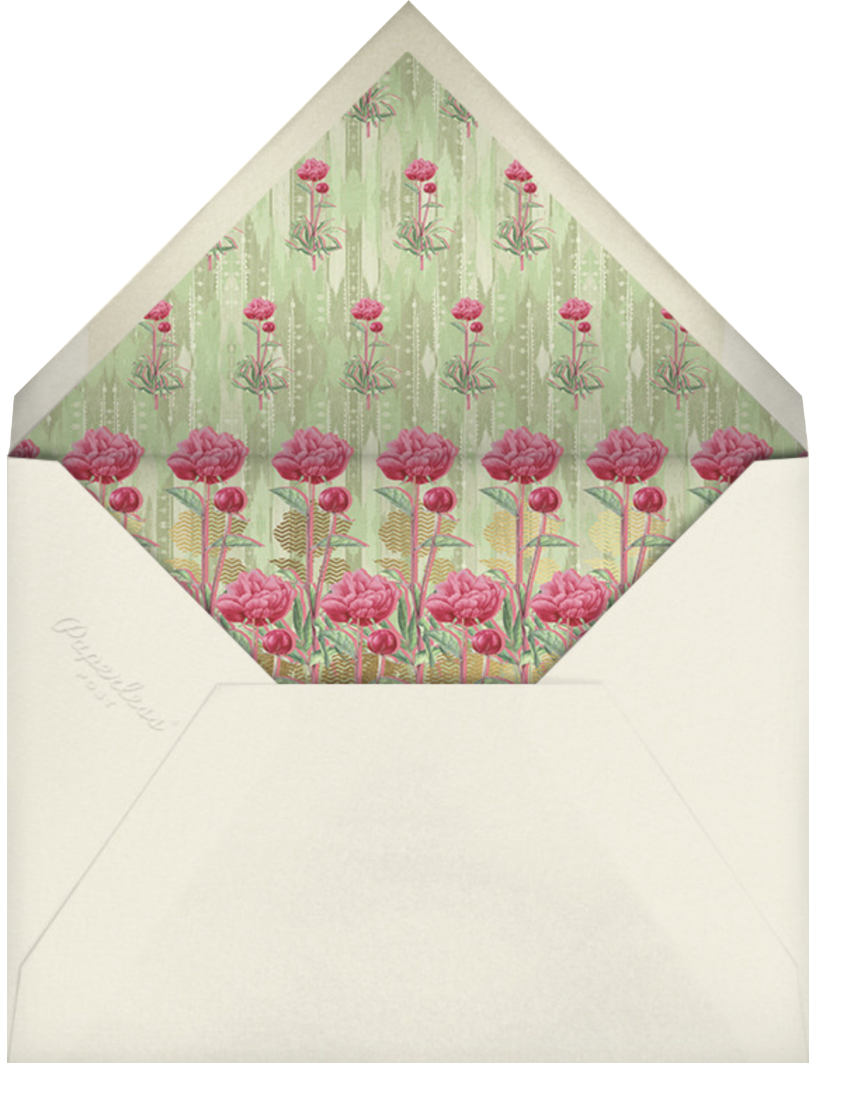 Aniyora (Invitation) - Anita Dongre - Indian - envelope back