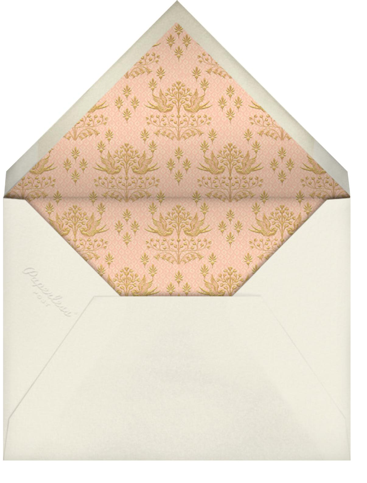 Aadya (Invitation) - Sherbet - Anita Dongre - Indian - envelope back