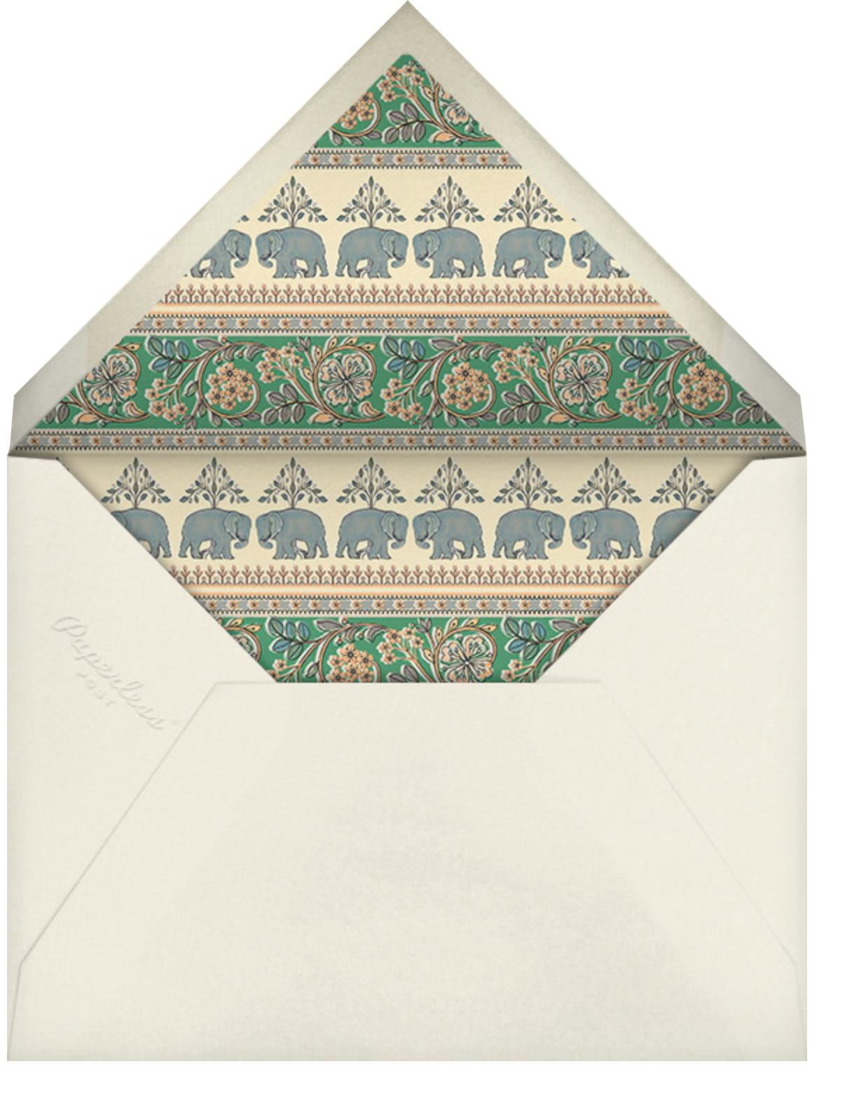 Naima (Mehendi) - Green - Anita Dongre - Indian - envelope back
