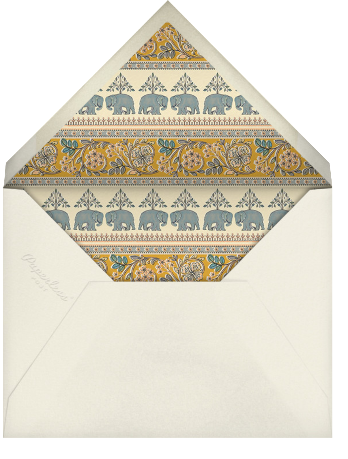 Naima (Haldi) - Paella - Anita Dongre - Indian - envelope back