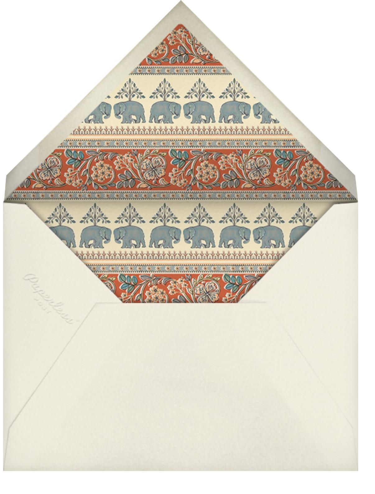 Naima (Sangeet) - Longhorn - Anita Dongre - Indian - envelope back