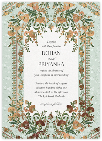 Aditri (Invitation) - Anita Dongre - Wedding Invitations