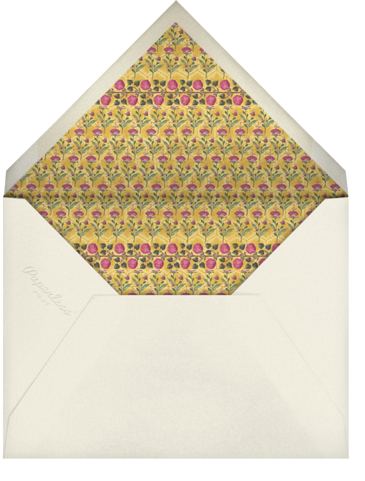 Nirvi (Invitation) - Anita Dongre - Indian - envelope back