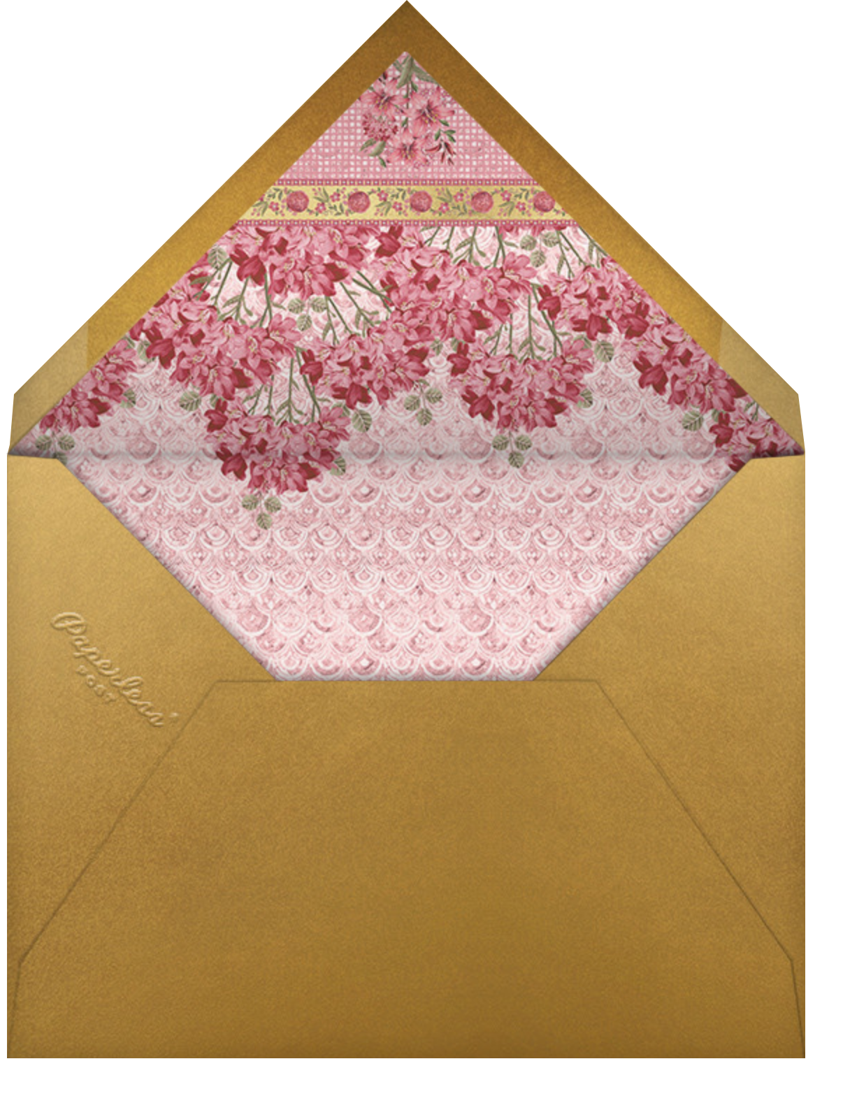 Rashia (Invitation) - Anita Dongre - Indian - envelope back