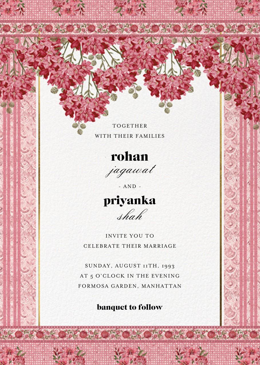 Rashia (Invitation) - Anita Dongre - Wedding invitations