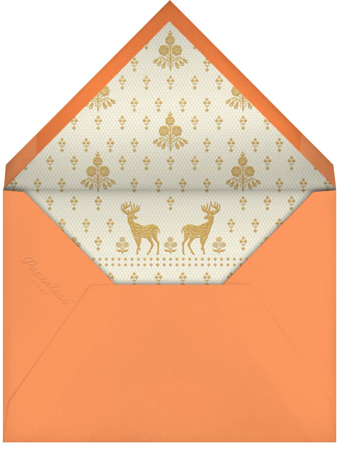 Aashna (Sangeet) - Topaz - Anita Dongre - Indian - envelope back