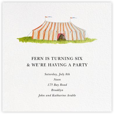 Circus Tent - Felix Doolittle - Felix Doolittle Cards