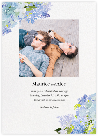 Wild Lilac (Invitation) - Felix Doolittle - Wedding invitations