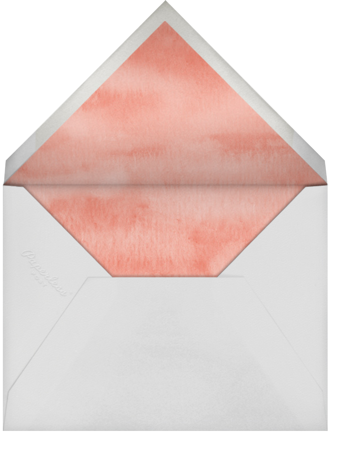 Row of Hearts - Felix Doolittle - Save the date - envelope back