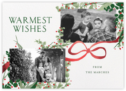 Yule-tied - Paperless Post - Holiday photo cards