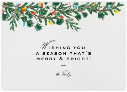 Branch Out (Horizontal) - Paperless Post - Christmas Cards
