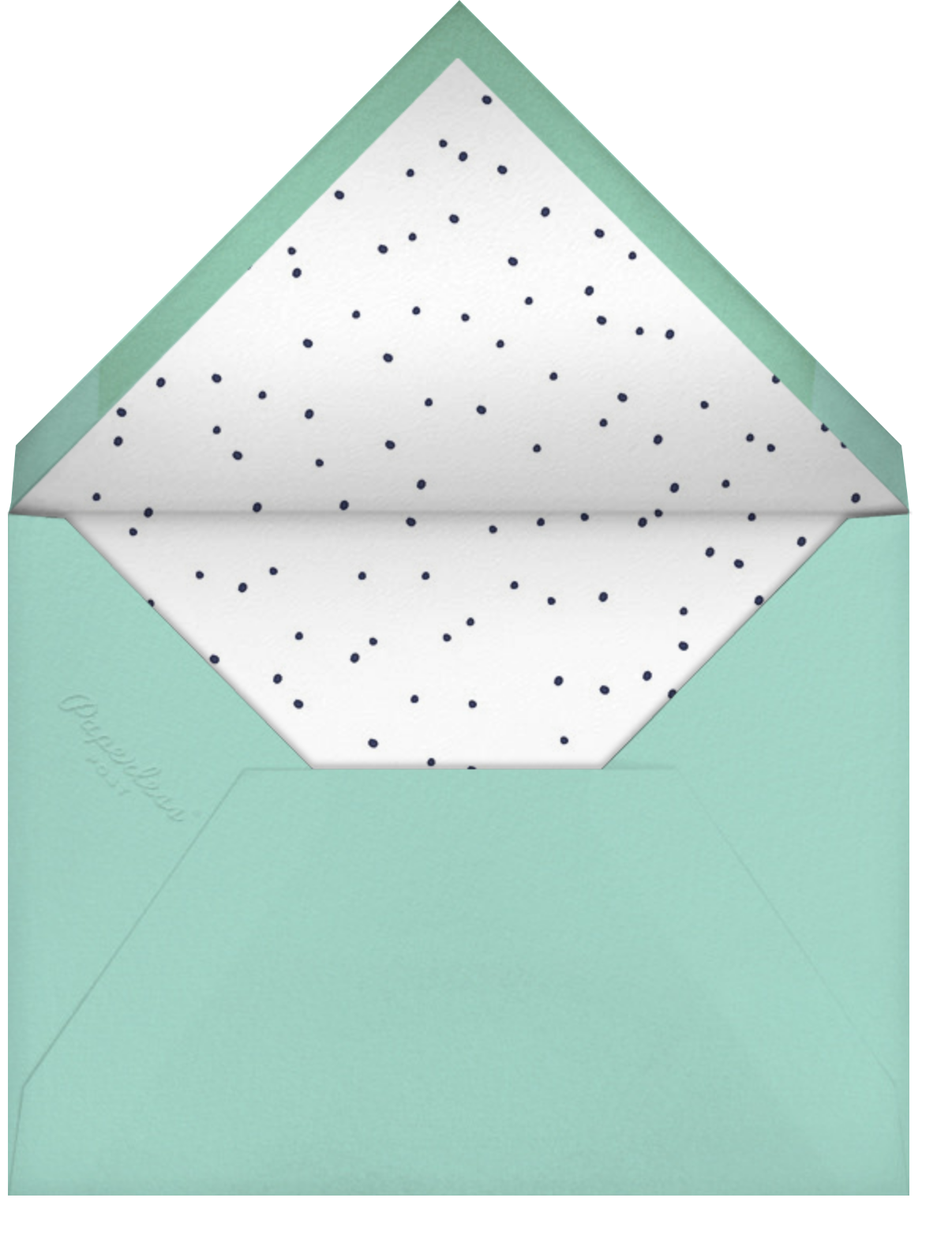 Dinos Might (Greeting) - Blue - Hello!Lucky - Envelope