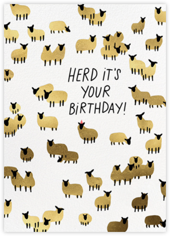 Ewe Rock - Hello!Lucky - Birthday Cards