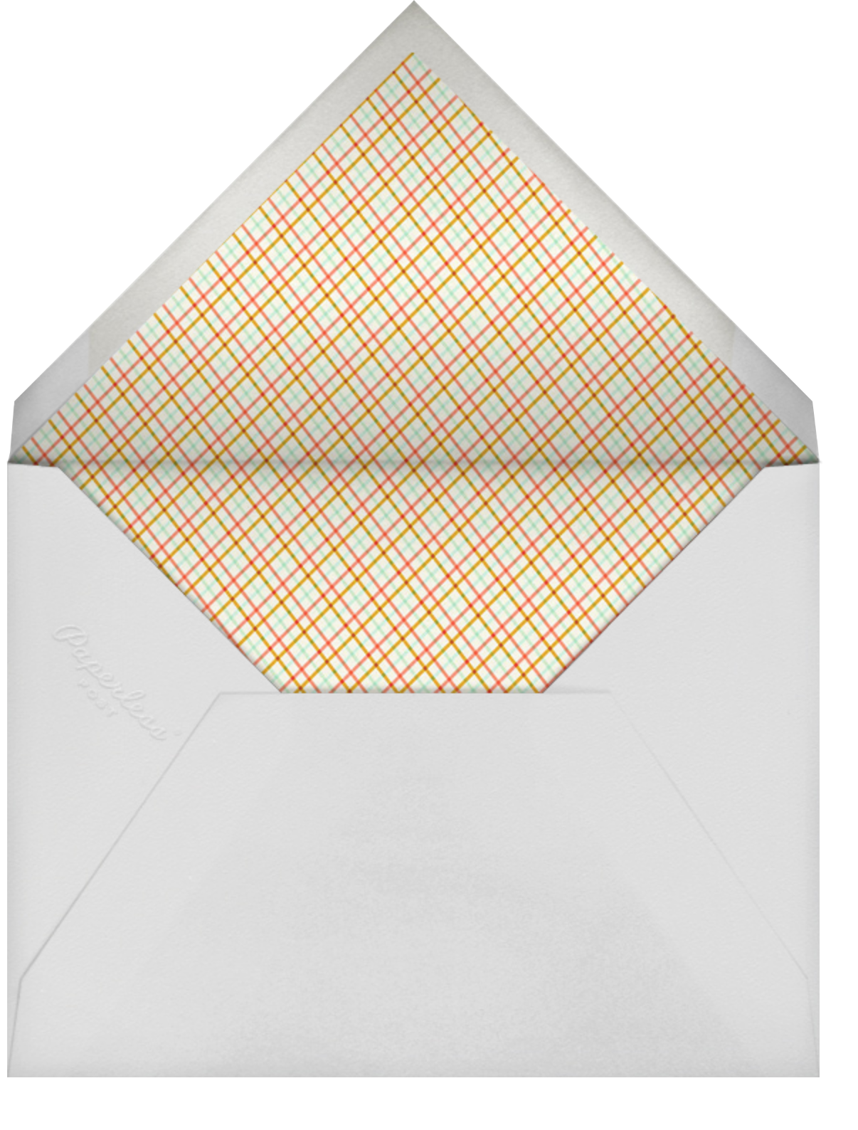 Turkey Feast - Hello!Lucky - Thanksgiving - envelope back