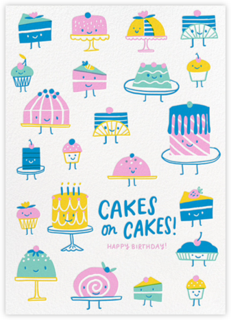 Cakes on Cakes - Hello!Lucky -