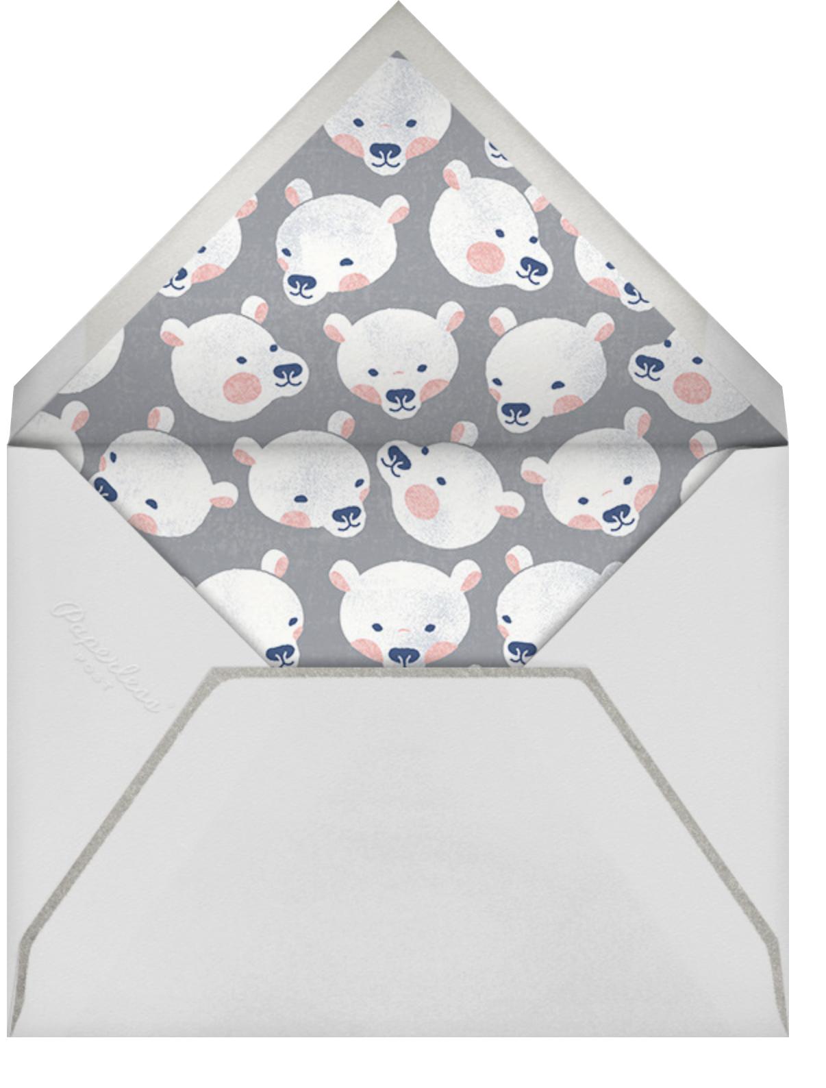 Bear Hug - Paperless Post - Valentine's Day - envelope back