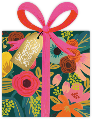 Birthday Present - Rifle Paper Co. - Online Cards