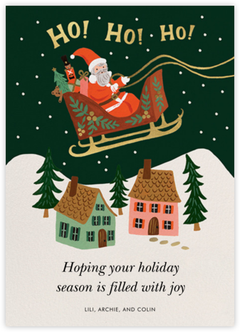 Christmas Delivery - Rifle Paper Co. - Online greeting cards