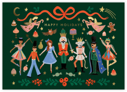 Nutcracker Characters - Rifle Paper Co. - Christmas cards