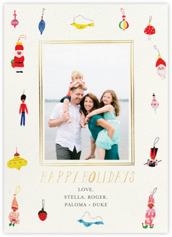 Holiday Treasures - Mr. Boddington's Studio - Photo Christmas cards