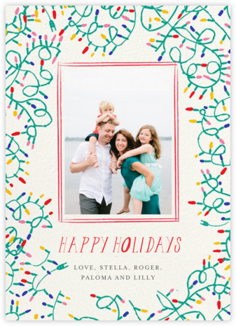 Light It Up Photo - Mr. Boddington's Studio - Holiday Cards