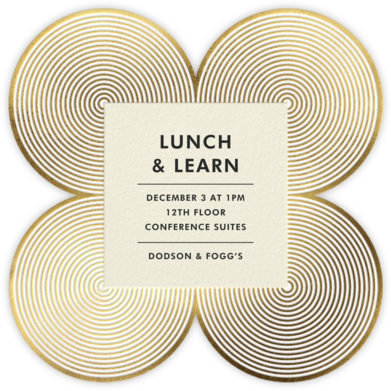 Melrose - Gold - Jonathan Adler - Dinner and luncheon