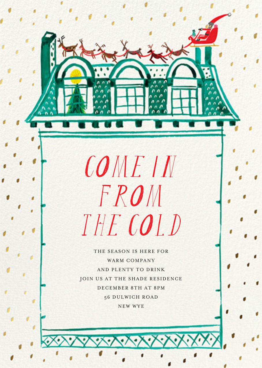 Up on the Rooftop - Invitation - Mr. Boddington's Studio - Mr. Boddington's studio
