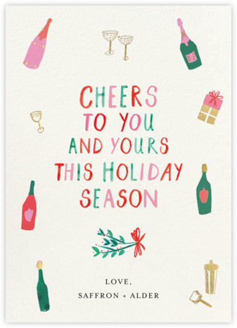Spread Cheers - Mr. Boddington's Studio - Company holiday cards