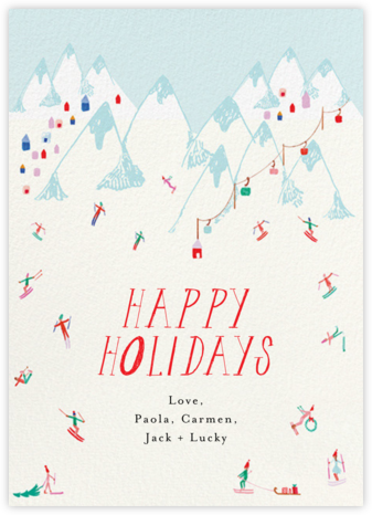 Snow Bunnies - Mr. Boddington's Studio - Holiday cards