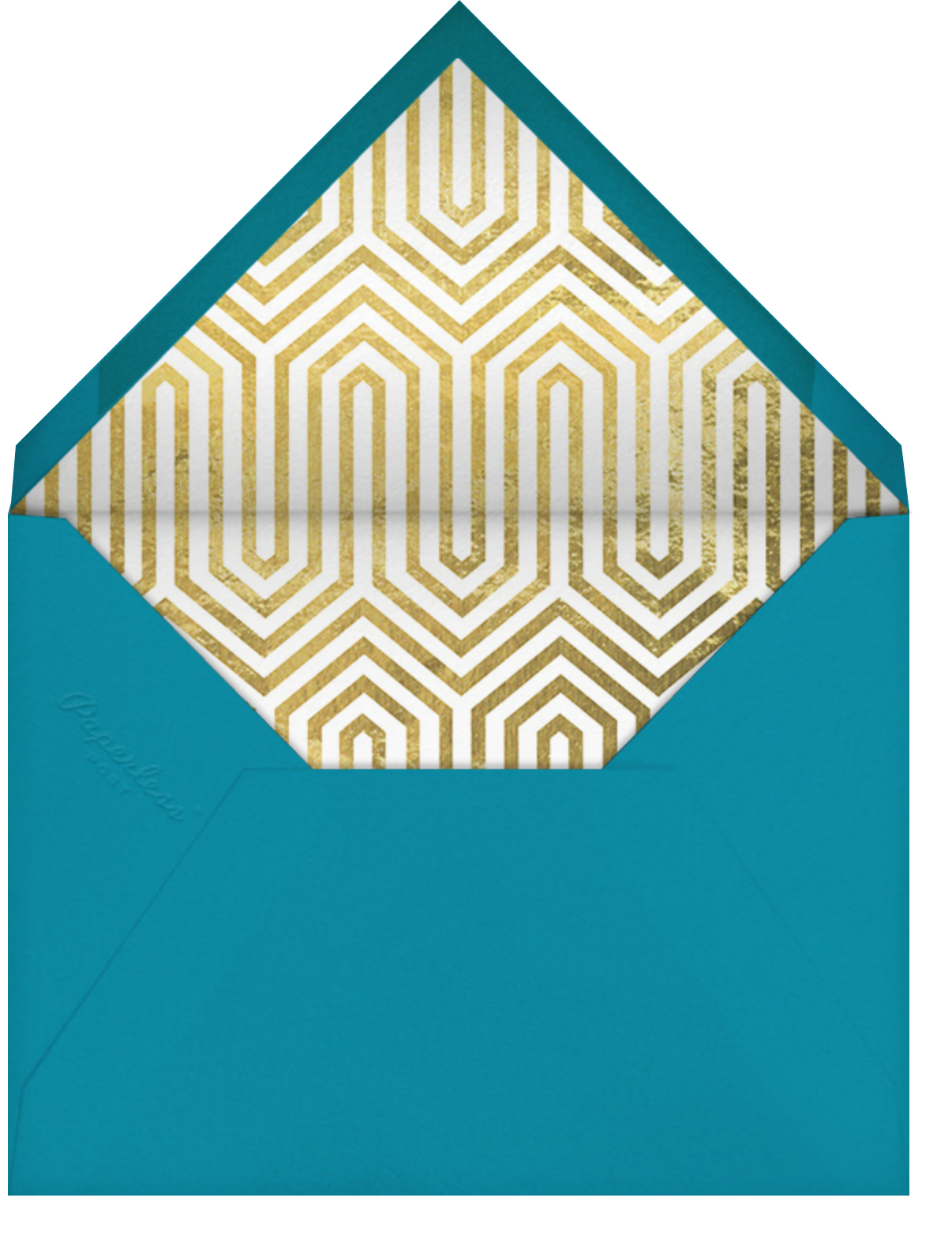 Maldives - Amazon - Jonathan Adler - Adult birthday - envelope back