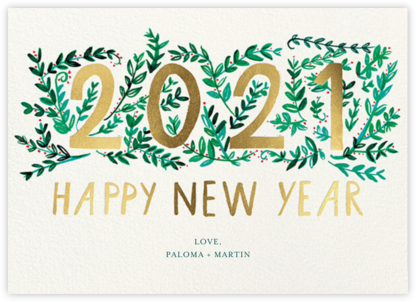New Year Growth - Mr. Boddington's Studio - Online Cards