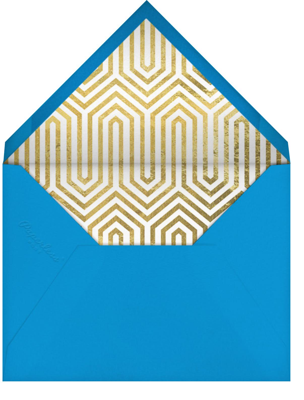 Elton - Jonathan Adler - Congratulations - envelope back