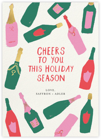 Bottle Behavior - Mr. Boddington's Studio - Company holiday cards
