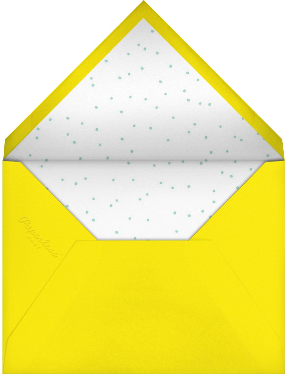 Monster Bash - Petit Collage - Kids' birthday - envelope back
