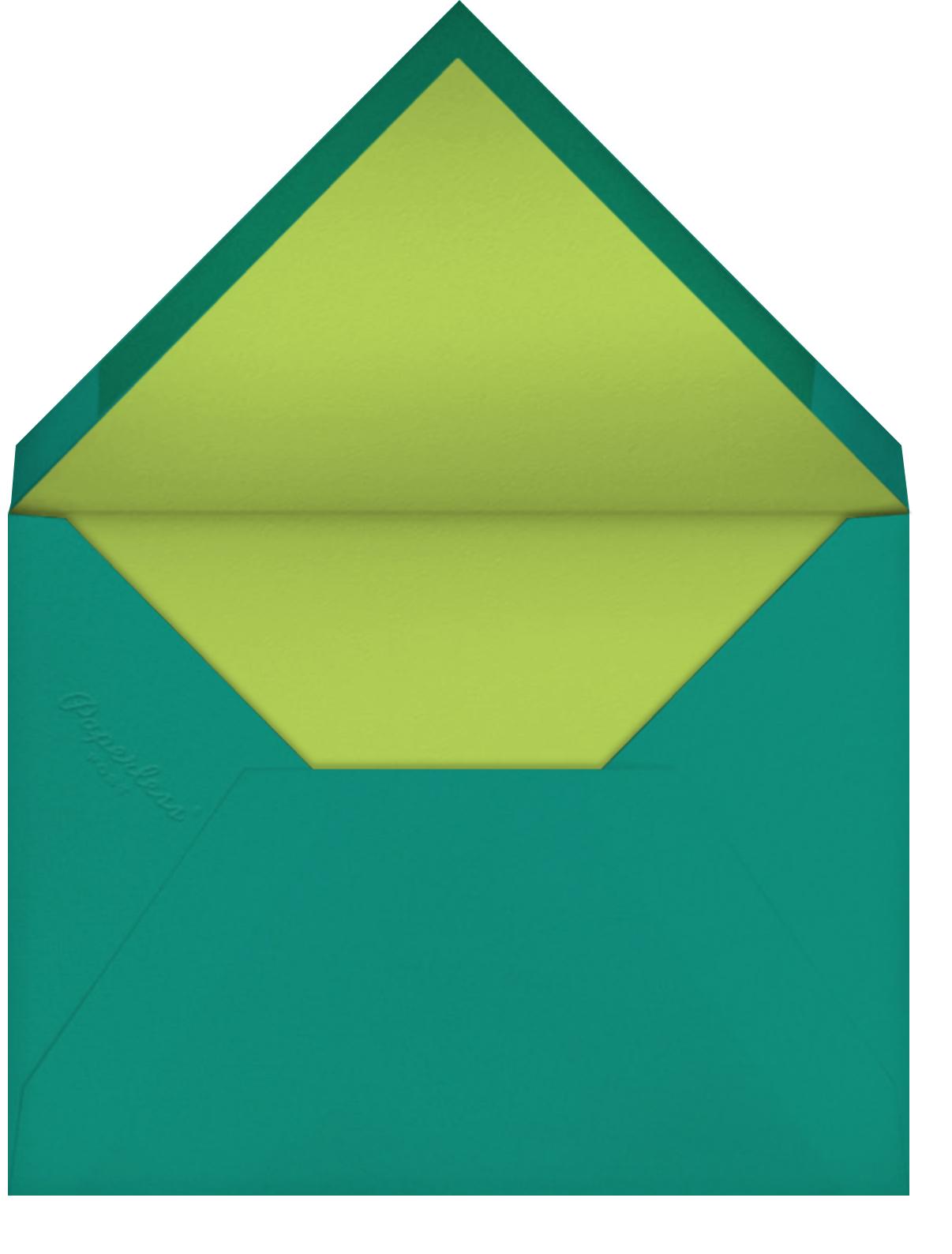 Little Explorers - Petit Collage - Kids' birthday - envelope back