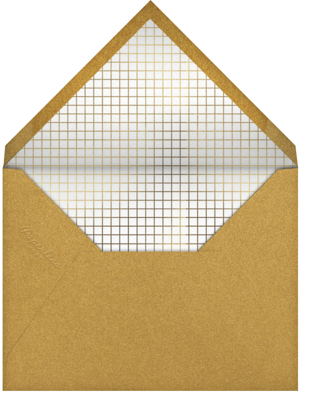 Holiday Confetti - Flame - Paperless Post - Holiday cards - envelope back